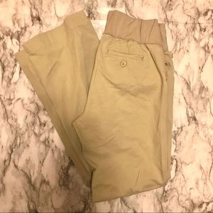 Gap Khaki Maternity pants. Great Condition